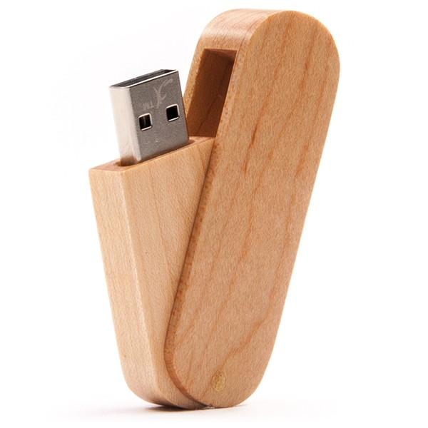 USB-Stick Holz Expert