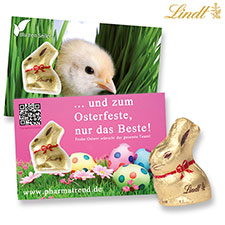 Lindt Goldhase Promotion-Card