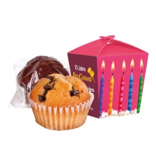 Muffin Mini in der Promotion-Box