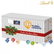 3D Adventskalender Container Lindt